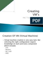 Creating VM's