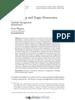 Article - Imagination and Tragic Democracy