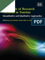 Handbook of Research Methods in Tourism-Larry Dwyer, Alison Gill, Neelu Seetaram
