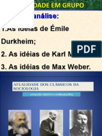 apresentação Émile Durkheim, Karl Marx e Max Weber..ppt