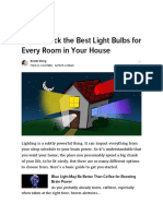 How to Pick the Best Light Bulbs for Every Room in Your House.pdf
