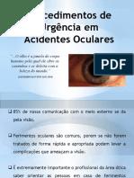 emergências oculares