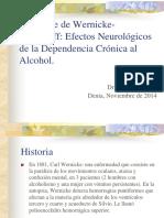 sindromedewernicke-korsakof- Presentacion