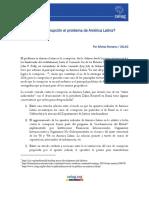Es La Corrupción El Problema de América Latina