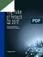 The Pulse of Fintech Q2 2017