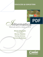 Manual Corint Clasa a 11-A Info