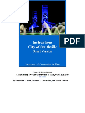 city of smithville chapter 5 journal entries