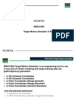 EGNIYA EMA3100A Target Motion Simulator in Brief (in pdf format)