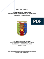 PRoposal Sumur Bor Sri Rejeki 2.doc