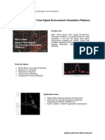 EEH 1100A – Space Time Signal Environment Simulation Platform