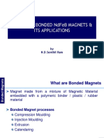 Trends of Bonded Ndfeb Magnets & Its Applications