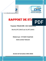 reseau telephonique (tunisie telecom)