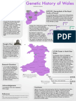 The Genetic History of Wales