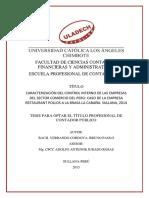 Verrando Cordova Bruno Paolo Control Interno Sector Comercio