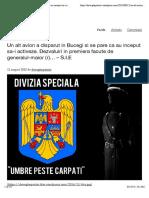 Un alt avion a disparut in Bucegi si se pare ca au inceput sa-i activeze. Dezvaluiri in premiera facute de generalul-maior (r)… – S.I.E  