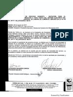 Acta Declaratoria de Proceso Desierto