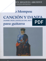 MOMPOU Federico - Cancion Y Danza_Sobre Dos Cantigas Del Rey Alfonso X (rev Gilardino, Biscaldi).pdf
