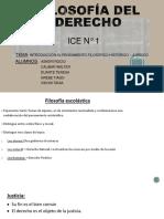 FILOSOFÍA DEL DERECHO ICE N° 1  POWER POINT (2)