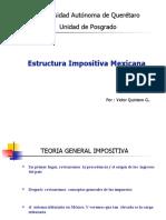 Estructura Impositiva Mexicana
