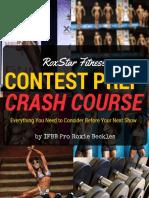 Roxstar Fitness Contest Prep Crash Course eBook