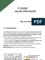 2.- UNIDAD 2 Sistemas de Información