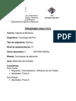 5-P.a. Tecnología Del Frio