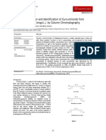 Curcumin Kromatografi