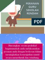 Peranan Guru Sek Ren