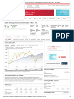 CIBC Managed Income Portfolio Cl T4 U$_F000005IF1, mutual funds, quote, price - Morningstar
