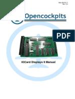 IOCard Displays II Manual 2012 REV2.2 English