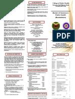 MSPH Biostatistics Flyer