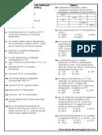 Escalas Termométricas y Dilatación