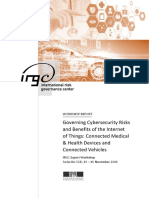 IRGC. 2017. Cybersecurity in the IoT. Workshop Report