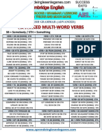 Advanced Multi words for cae