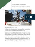 Saneamiento en El Peru