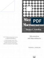 Micromotives and macrobehavior. Schelling, Libro completo
