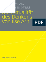Arlt, Ilse - Die Aktualität Des Denkens