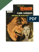 Carrados Clark - Seleccion Terror - 428 - Una Bala de Plata Pura