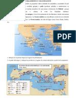 Ficha I Sobre GRecia. POblamiento y Polis