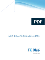 FX Blue Trading Simulator for MT5