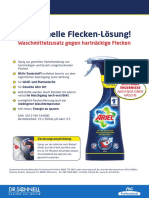 31-3101 Ariel-Fleckentferner-Spray de PB 0315