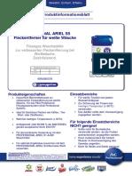 PIB PROFESSIONAL ARIEL S5 Fleckentferner Fur WeiSse Wasche