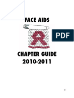 FACE AIDS Chapter Guide 2010 - 2011