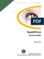 Spanish SuperNovaAccessSuite v14