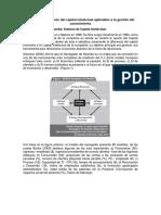 Modelos de Medición Del Capital Intelectual Aplicables a La Gestión Del Conocimiento