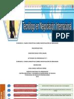 MAPA CONCEPTUAL Investigación de Mercados Actividad 5 Evidencia 1