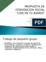 Propuesta de Intervencion Social