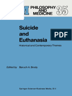 Baruch a. Brody (Eds.)-Suicide and Euthanasia_ Historical and Contemporary Themes-Springer Netherlands (1989)