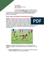 Características Del Futbol