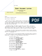 Gary Halbert Copywriting Course